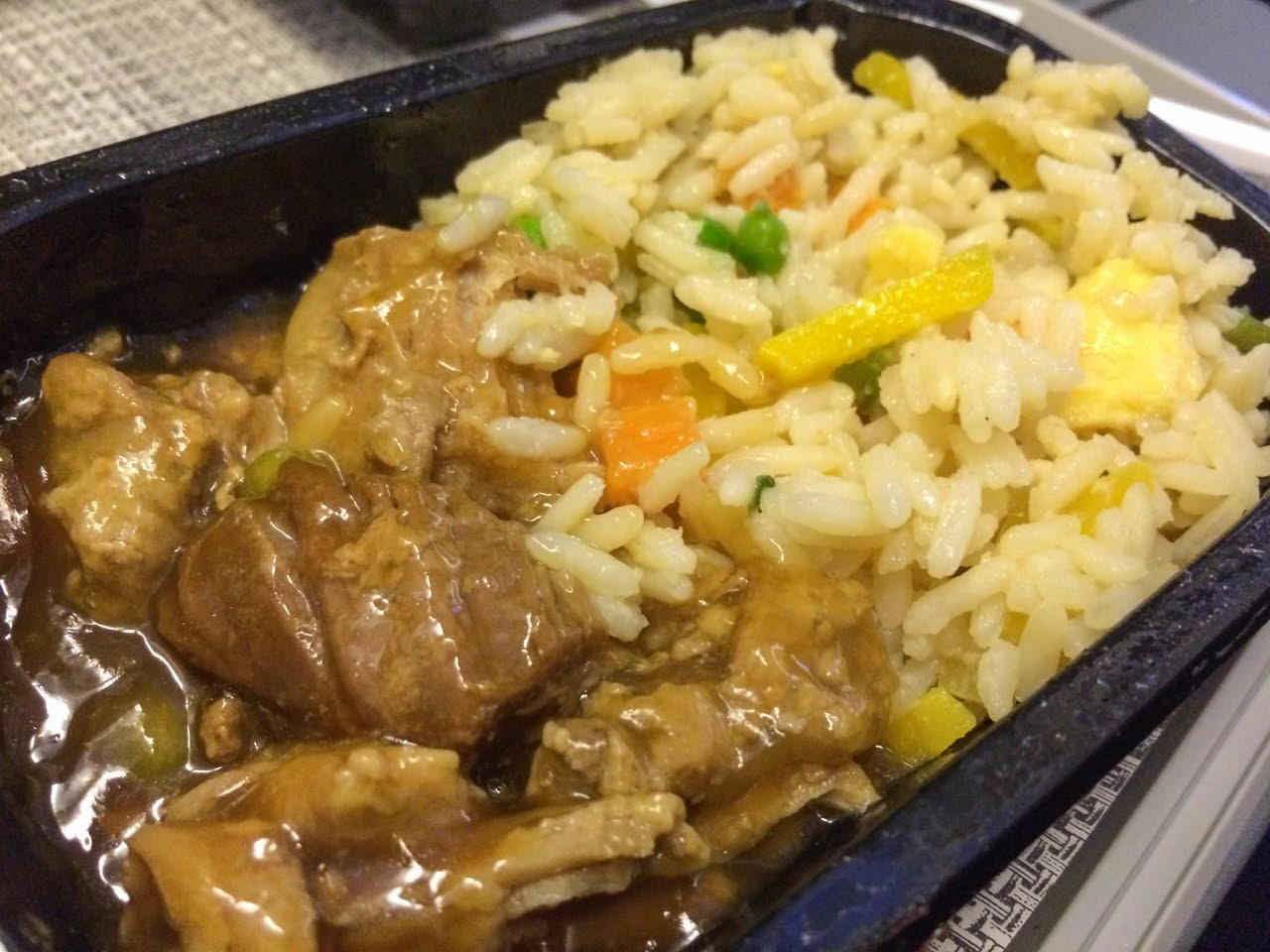Pork teriyaki with rice