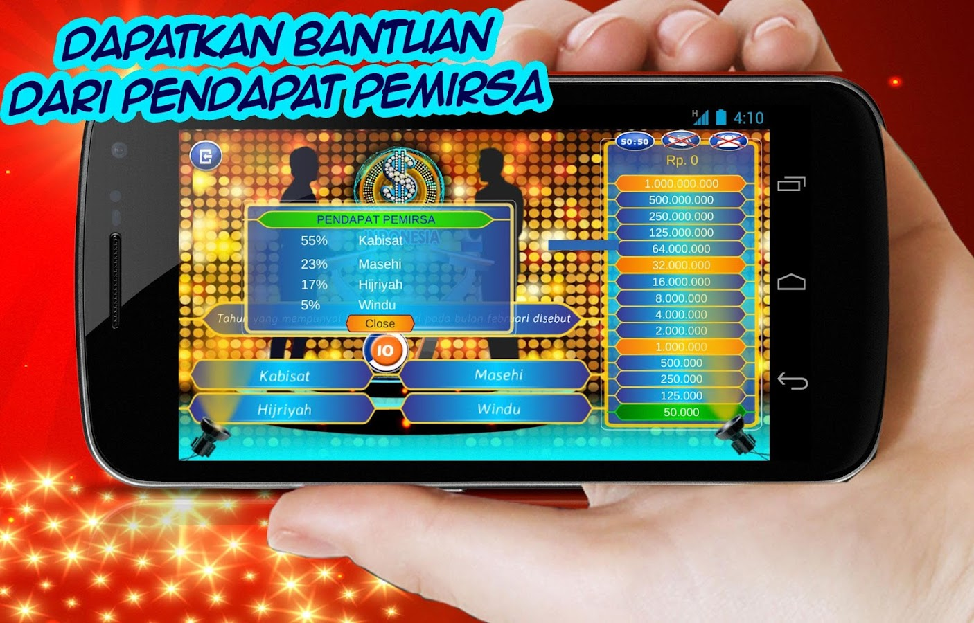 Kuis Millionaire Indonesia HD Android Apps On Google Play