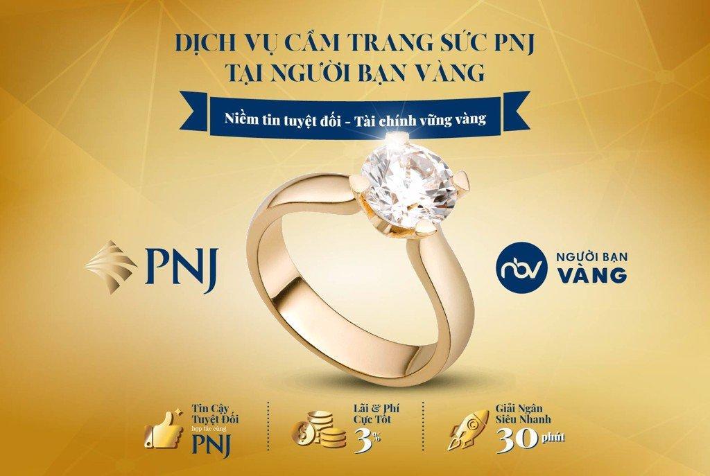 Cam kết khi cầm kim cương tại Người Bạn Vàng