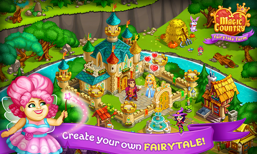 Magic City: fairy farm and fairytale country for Android apk 11
