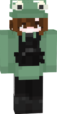 i used this skin and edited the hait so if you made this skin im sorry