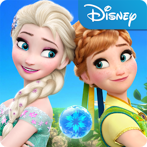 https://play.google.com/store/apps/details?id=com.disney.frozensaga_goo