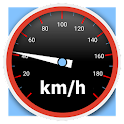 Speedometer analog digital HUD icon