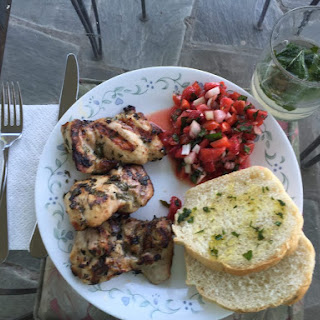 Grilled Mojito Chicken Thighs