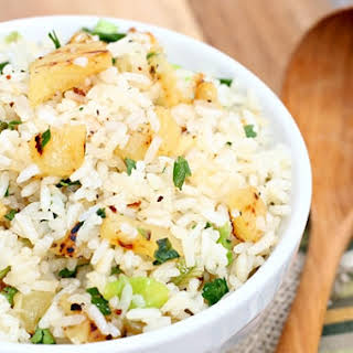 Grilled Pineapple Rice.