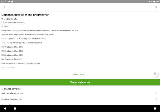 Jora Jobs - Job Search, Vacancies & Employment  screenshots 6