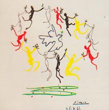 "Photo: ""Sardana de la joventut"" Picasso (25/7/1961)"