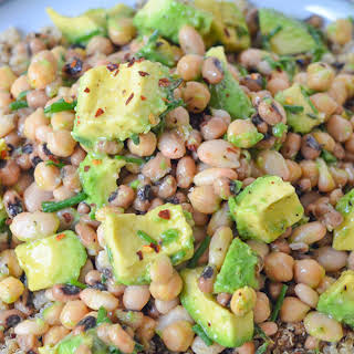Avocado + Three Bean Salad.
