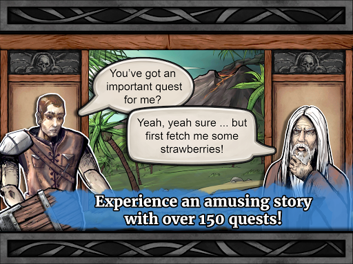 Paladin's Story: Fantasy RPG (Offline) filehippodl screenshot 24