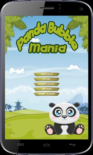 Panda Bubble Shooter Mania
