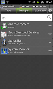 System Monitor Screenshot
