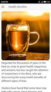 Health Benefits of Teas | Habit of drinking tea - náhled