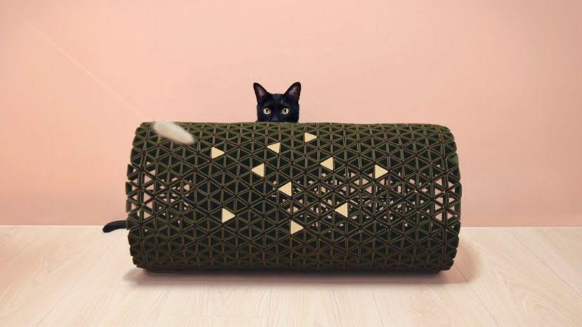 Estos muebles para gatos y personas mantienen un interior bien ventilado