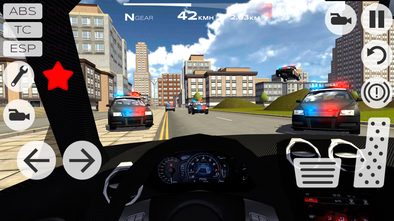 Extreme Car Driving Racing D