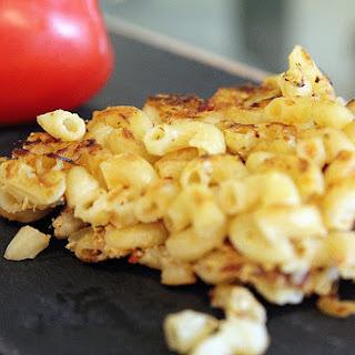 Fried Italian Herb Macaroni.