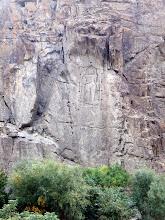 Photo: Buddha near Kargah, 4m tall, 6th century A.D.
