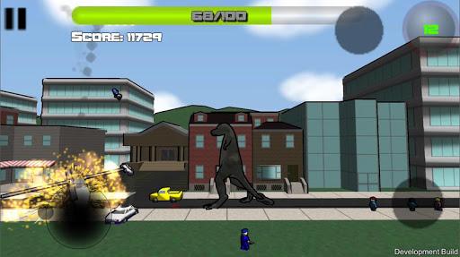 Attack of the Giant Mutant Lizard  screenshots 8