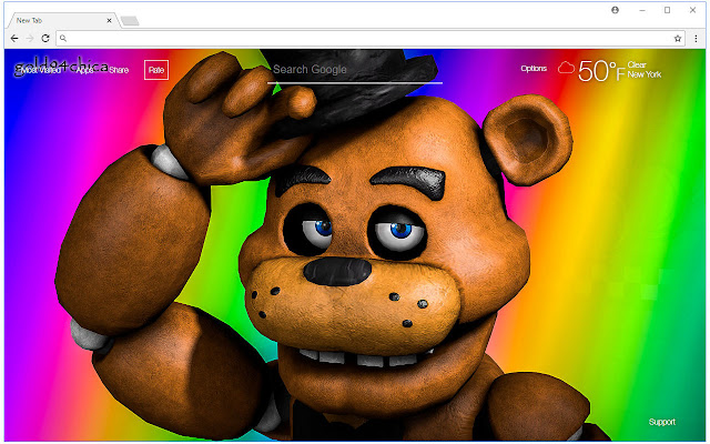FNaF Wallpaper HD Five Nights at Freddy's - Chrome Web Store on
