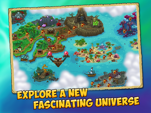 Booblyc TD - Cool Fantasy Tower Defense Game screenshots 10