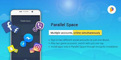screenshot of Parallel Space Pro -- App Cloner