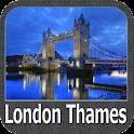 london thames gps map icon