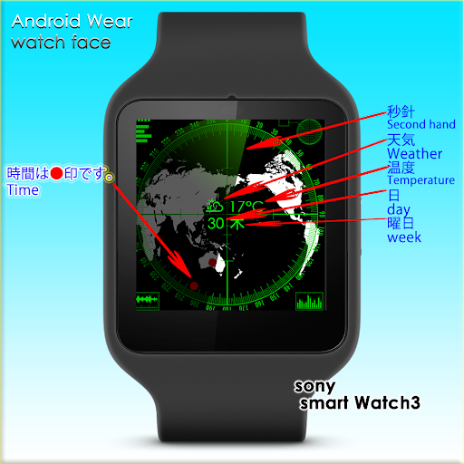 レーダー Watch Face
