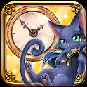 黒猫のウィズ ボイスアラーム icon