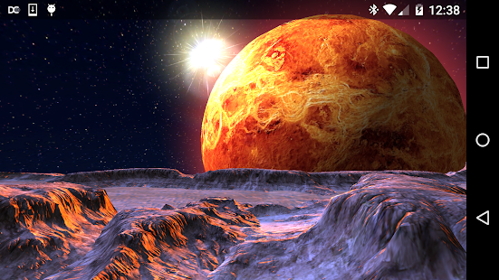 Planet X 3D Live Wallpaper Screenshot
