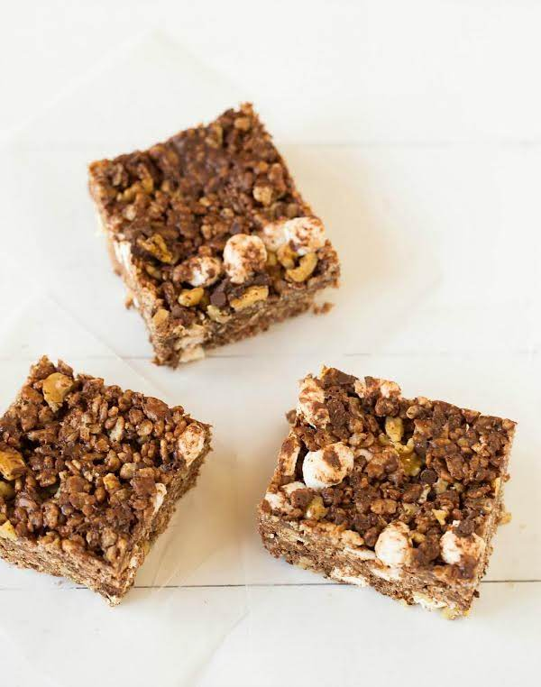 Rocky Road Rice Krispies Treats Recipe