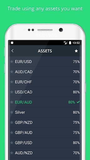 Binatex - binary options screenshot
