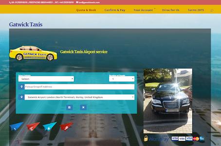 GatwickTaxi screenshot 0