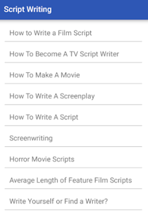 script writing apps on google play