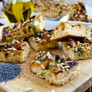 Whole Wheat Seed Bread.