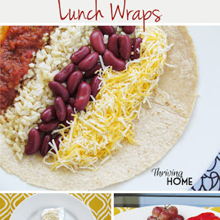 Make-Ahead Lunch Wraps.