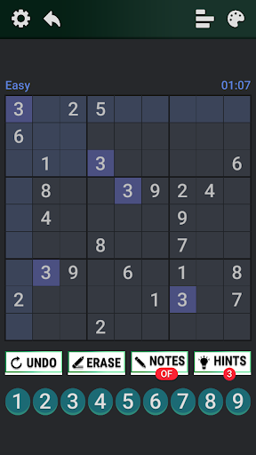 Classic Sudoku : Free Logic Number Puzzle Game apkdebit screenshots 5