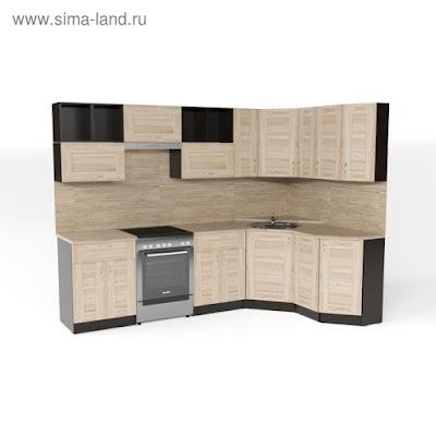 Кухонный гарнитур Томилла оптима 5 2700*1600 мм