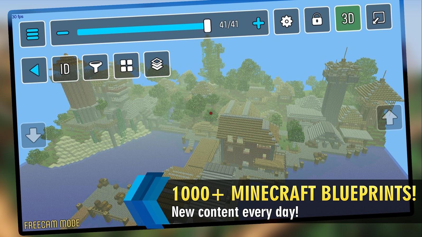 mcproapp build companion blueprints for minecraft