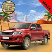 Desert Maze Runner Turbo Speed Game 3D