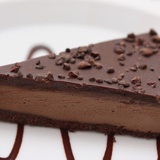 Raw Chocolate Mocha Cake.