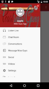 NISE Guys App - náhled