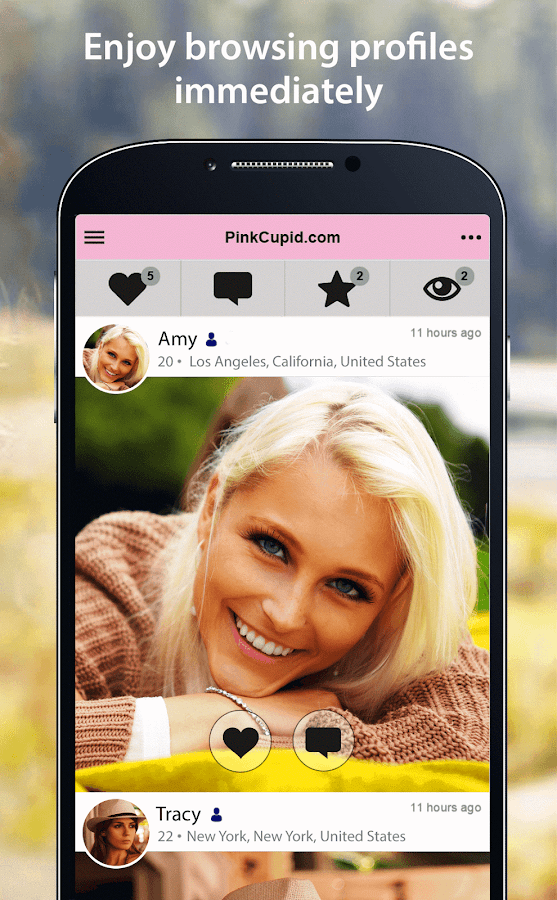 PinkCupid - Lesbian Dating App- screenshot