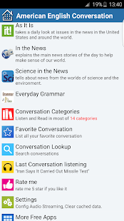 American English Conversation- screenshot thumbnail