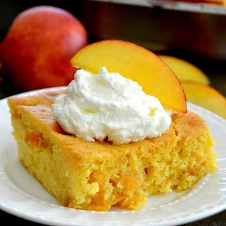 Peach Snack Cake