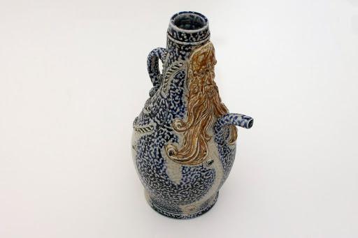 Peter Meanley Large Ceramic Bellarmine Jug