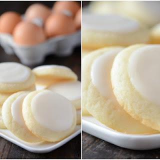 Almond Meltaway Cookies.