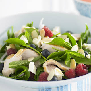 Mixed Berry and Chicken Salad.