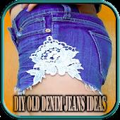 DIY Old Denim Jeans Ideas