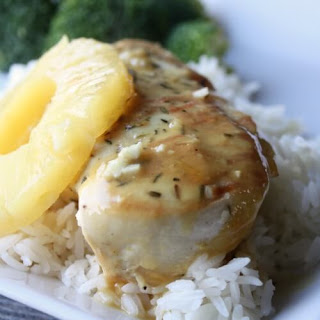 Pineapple Chicken and Rice.