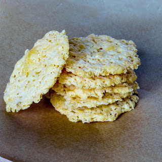 3 Ingredient Gluten-Free Cheese Crackers
