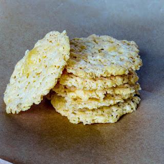 3 Ingredient Gluten-Free Cheese Crackers.
